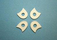 Foam Toe Separators, 1/4'' Thick, 100 Pack, from Atlas Biomechanics, Medical Grade Spacer