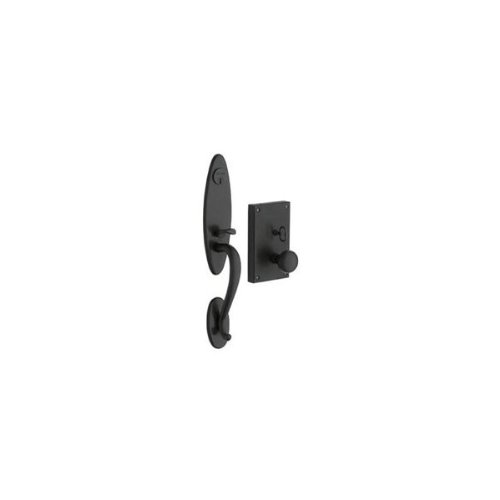Oil Rubbed Bronze Baldwin 6549.Rent Williamsburg Right Hand Single Cylinder Mortise Handleset Trim
