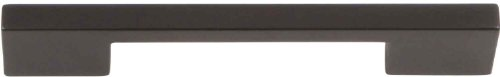 - Atlas Homewares A867-MB Successi Collection 6.13-Inch Thin Square Long Pull, Modern Bronze