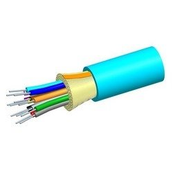 1000' COMMSCOPE 760012112 12 Fibers OM4 Lazer Optimized 50 Micron Gelfree Aqua Riser Tight Buffered Cable
