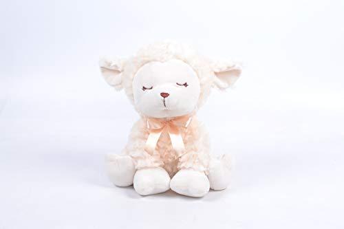 10 Inch Plush Snowflake - Linzy Plush L-12595 Snowflakes Baby Lamb, 10