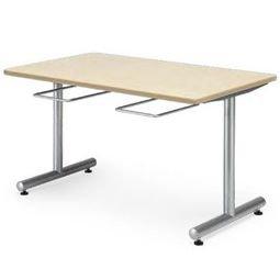 食堂テーブル 【DYT-1275】幅1200mm×奥行き750mm 塗装タイプ イス掛け式 メープルMPL B0150YZWB2メープルMPL