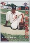 1995 Raging Color Classics Cedar Rapids Kernels - [Base] #12 - Jose Aguirre