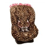 Baby Bella Maya Lollipop Leopard Toddler Car Seat Cover