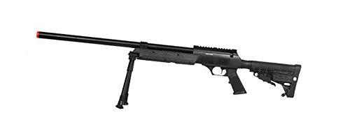 Well SPEC-OPS MB13A APS SR-2 Bolt Action Rifle de francotirador Airsoft Gun (paquete negro / bípode)