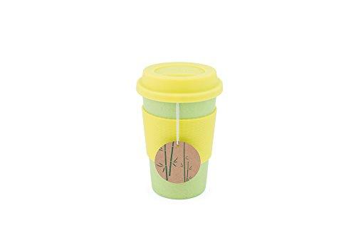 Peterson Housewares–bf0265014cgr4Fibra de Bambú Eco taza, 16onzas, verde