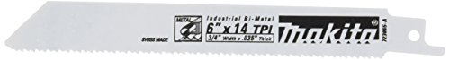 Makita 723065-A-5 6-Inch 14-TPI All Purpose Reciprocating Saw Blade