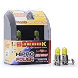 Hipro Power H3 55 Watts Golden Yellow Xenon HID Halogen Fog Light Bulbs