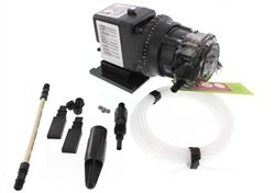 Stenner Pump 45mhp10 - Stenner Peristaltic Pump Adjustable Head - Rated at 0.5 to 10.0 gpd adjustable head. Rated at 100 psi. - Ideal Chlorine Injection Pump. Ideal Chlorine Pump.