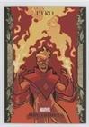 Pyro (Trading Card) 2007 Upper Deck Fleer Marvel Masterpieces - [Base] - Gold Border ()