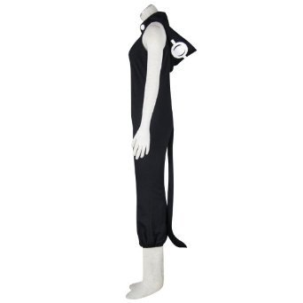 [Gorgon Medusa Costume Outfits Black Suit for Soul Eater Cosplay Costume Xcoser in Large] (Medusa Costumes Wig)