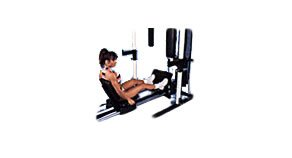 Seated Leg Press Attachment by Yukon