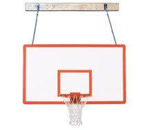 最初チームsupermount46パフォーマンスsteel-fiberglass壁マウントバスケットボールsystem44 ;スカーレット B01HC0ELAK