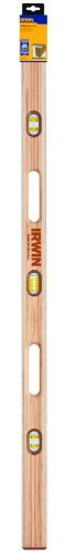 IRWIN Tools 1500W Wood Mason's Level, 48-Inch - Level Hardwood
