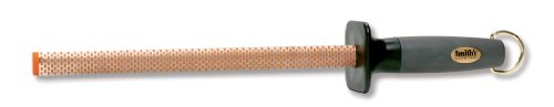 Smith's #3001 10-Inch Oval Diamond Sharpening Rod