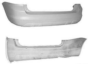 FORD TRANSIT CONNECT 2013 ON REAR BUMPER CENTER TEXTURED BLACK//GREY NEW