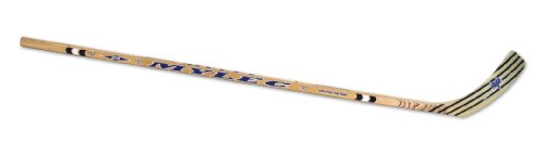 Mylec Senior Total Hockey Stick (White, Left, 58 -Inch)