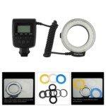 HL-48S Macro LED Ring Flash Light for Canon Nikon Panasonic DLSR Camera