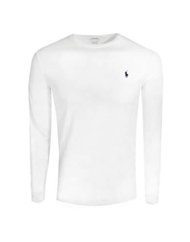 Polo Ralph Lauren Men's Long Sleeve Pony Logo T-Shirt - XX-Large - White