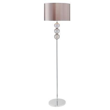 High Quality Glass Crackle Ball Floor Lamp Smoke Amazon Co Uk