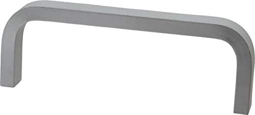 Aluminum Electro Hardware 4 Center to Center 1-1//2 High Rectangular Handle Clear Finish