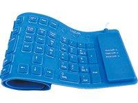 LogiLink ID0035 - Teclado flexible de silicona USB & PS/2, ...