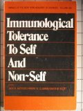 Immunological Tolerance to Self and Non-Self, New York Academy of Sciences Staff, 0897661753