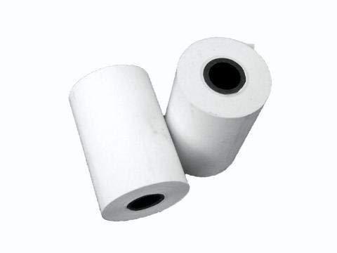 Juego de 20 rollos de papel t/érmico para dat/áfono y m/áquina de tiques