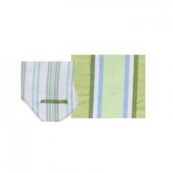 Fun Time Dog Harness Cover Blue Stripe XS ()