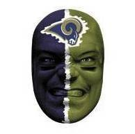 - Franklin St. Louis Rams Fan Face Mask