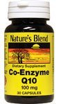 Coenzyme Q10 100 mg 30 Caps by Nature's Blend Bild