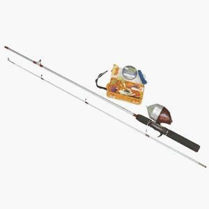 Zebco Ready Tackle Spincast Fishing Rod and Reel Combo with