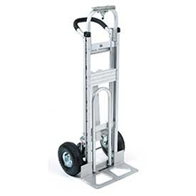 Aluminum 3-in-1 Convertible Hand Truck with Pneumatic Wheels by Global Industrial