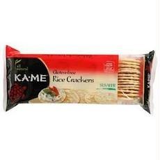 (Ka-Me B26802 Ka-me Rice Crunch Sesame Crackers -12x3.5oz)
