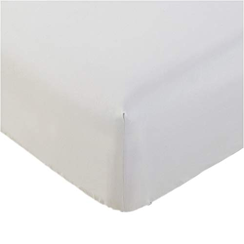 California King Deep Fitted Sheet - Mellanni Fitted Sheet Cal-King White Brushed Microfiber 1800 Bedding - Wrinkle, Fade, Stain Resistant - Hypoallergenic - (Cal King, White)
