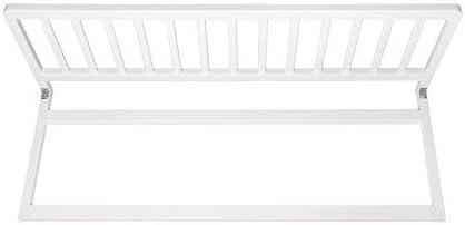 Safetots Rail de lit en bois Extra Large Blanc