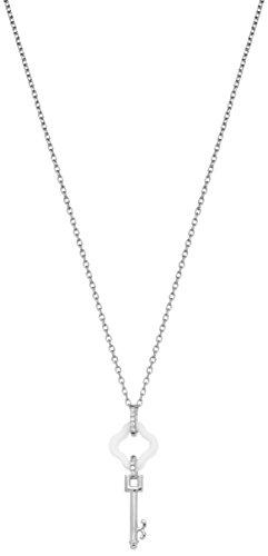 Ceranity - Collier avec pendentif - Argent 925 - Oxyde de Zirconium - 45 cm - 1-72/0056-B