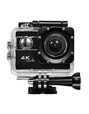 Lipa act11 AT-45 HDR action camera 4K, Wifi Remote, Microfoon, 32 Mounts, Waterproof, zwart