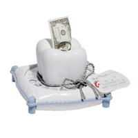 TOOTH FAIRY BANK -BLUE- by BND (Single Pk) THE PERFECT PRESENT by