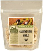 Woodstock Farms Organic Large Whole Raw Cashew, 7 Ounce - 8 per case.