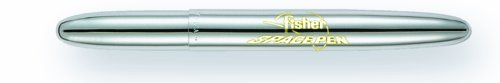 - Fisher Space Pen, Bullet Space Pen with Fisher Space Pen Logo, Chrome, Gift Boxed (400/FSP)