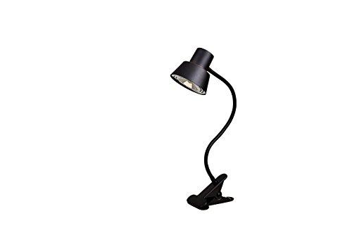Bronze Modern Desk Lamp (Tensor 19849-000 14-Inch LED Gooseneck Clip-On Desk Lamp, Bronze 19849-000)