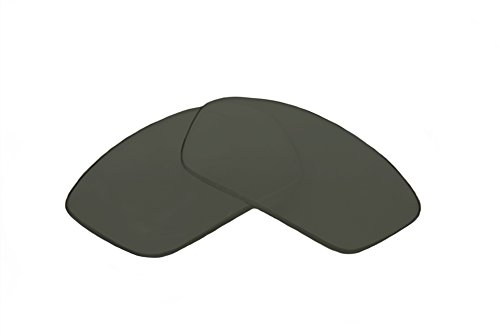 SFx Replacement Sunglass Lenses fits Oakley Flip Thump 61mm wide (Polycarbonate G15 Green ()