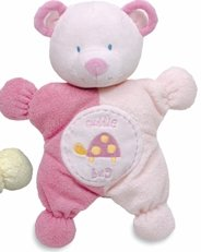 rt Cuddly Rattle Toy, Pink (Kids Preferred Pink Plush)