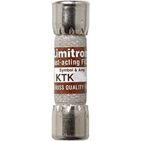 Bussmann KTK-5 5 Amp Limitron Fast Acting Supplementary Fuse Melamine Tube, 600V UL Listed