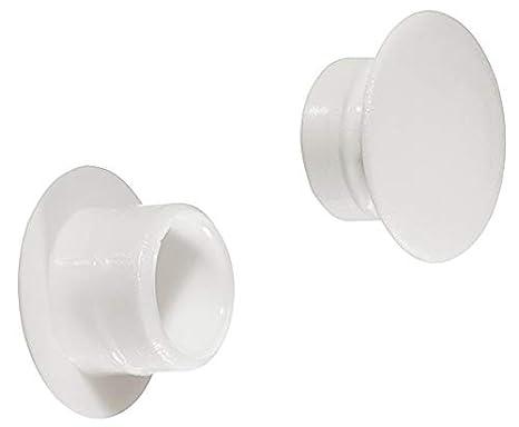 SUKI conjunto de herramientas OF 12 de tapones embellecedores de blanco 12 mm agujero ciego: Amazon.es: Bricolaje y herramientas