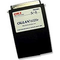OKI Data LAN 6020e+ 10/100Base-TX Ethernet External Print Server - RoHS Compliant by Oki Data