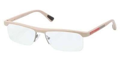 Prada Eyeglass Frames Vps 04C Oag-1O1, Beige (Prada Sport Shoes Women)