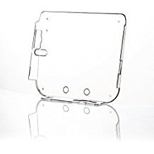 Alloet New Transparent Plastic Hard Protective Case Shell Skin for Nintendo 2DS with Film