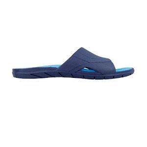 Okabashi Women's Drift Slide Sandal (ML (USA Women's 8.5 - 9.5), Navy/Aqua)